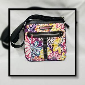 Lilly Bloom Large Floral Messenger Bag